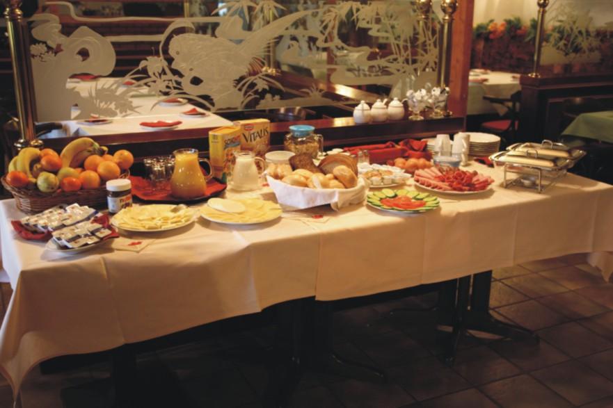 Hotel Magdeburg Frühstücksbuffet
