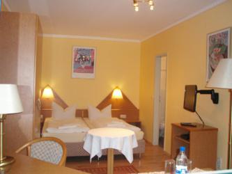 Doppelzimmer Hotel Ottersleben in Magdeburg